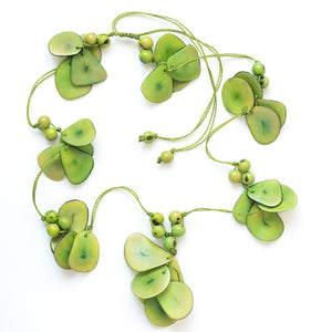 Green Tagua Necklace