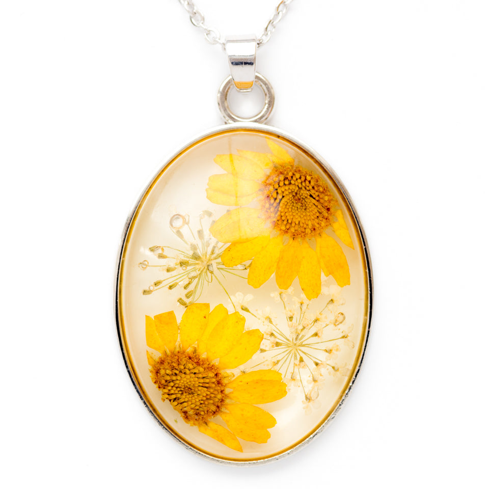 Cleo Necklace Yellow