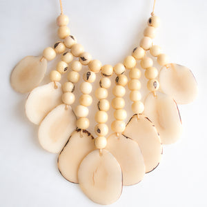 White Tagua Necklace
