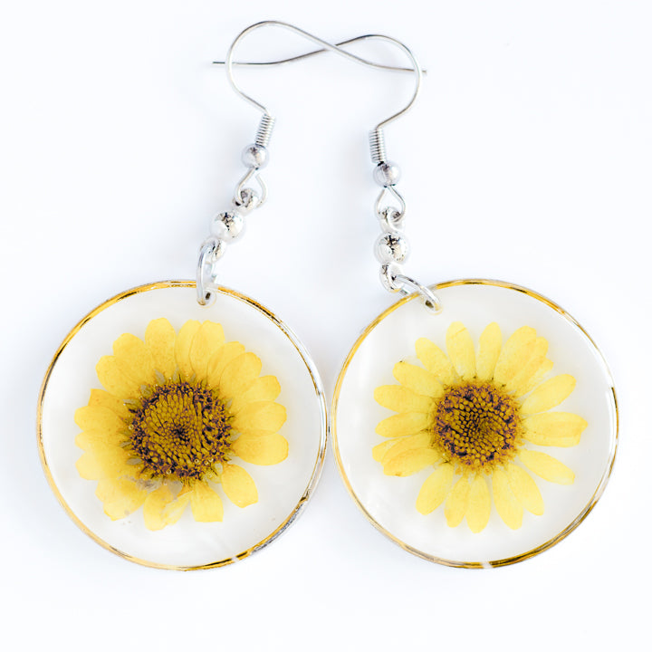 ORB FUNKY EARRINGS YELLOW