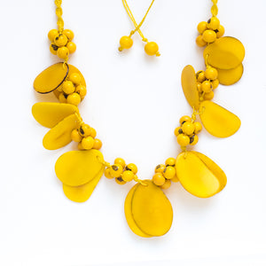 Yellow Tagua Necklace
