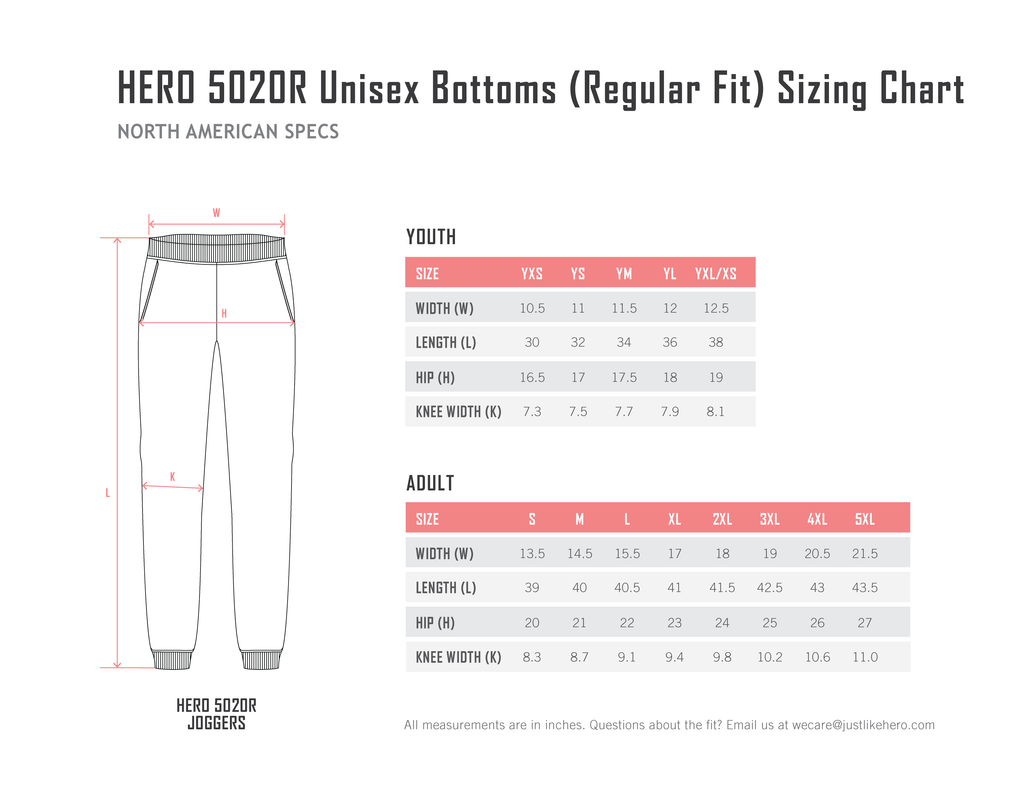 HERO-5020R (Regular Fit)