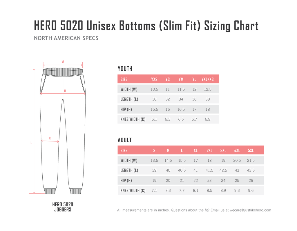 HERO-5020 (Slim Fit)