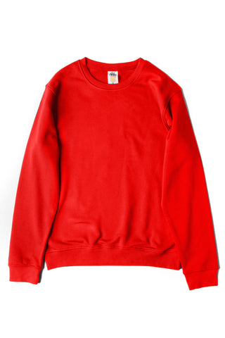 HERO-1020 Unisex Youth Blank Crewneck Sweatshirt - Red