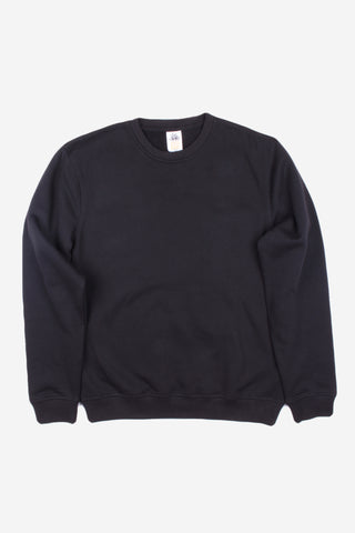 HERO-1020 Unisex Youth Blank Crewneck Sweatshirt - Black