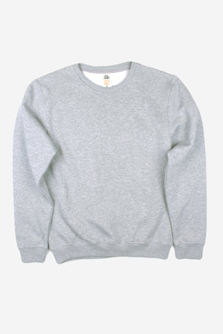HERO-1020 Unisex Youth Blank Crewneck Sweatshirt - Sport Grey