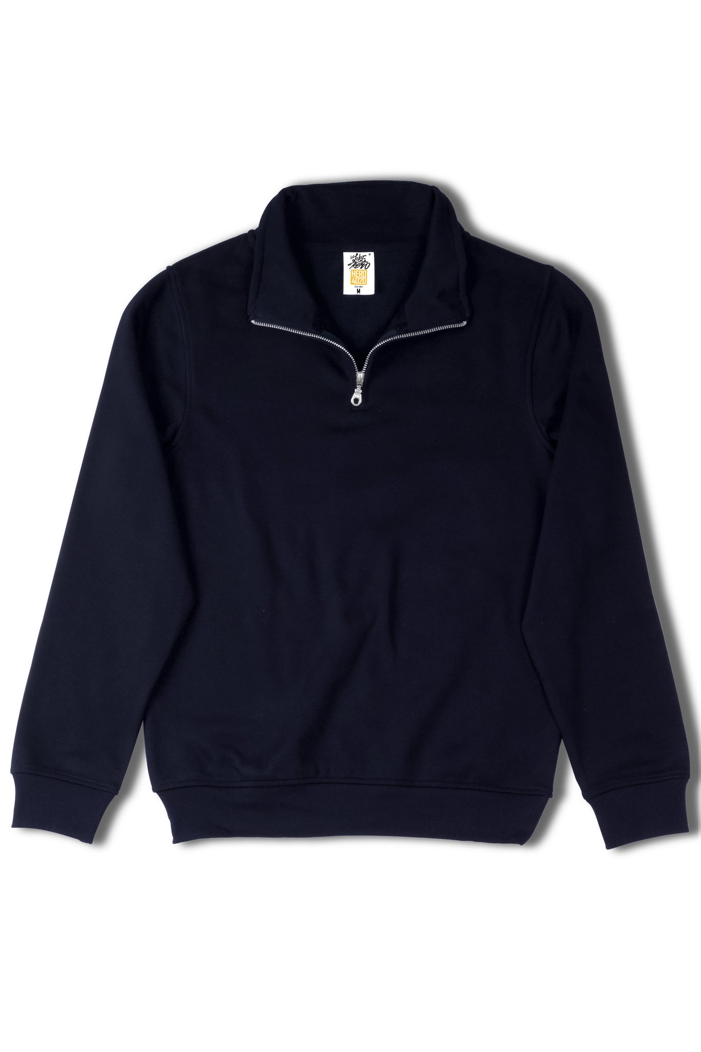 HERO-4020 Unisex Quarter Zip Sweatshirt - Navy Blue