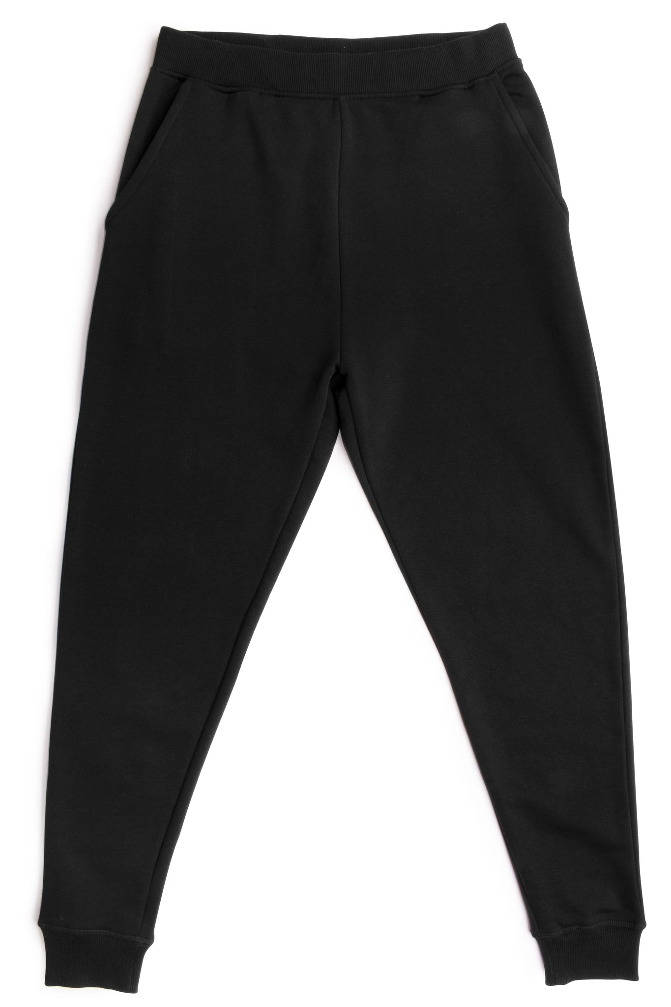 HERO-5020R Unisex Joggers - Black (Relaxed Fit)