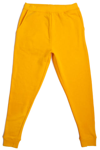 HERO-5020R Unisex Joggers - Gold (Relaxed Fit)