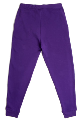 HERO-5020R Unisex Joggers - Purple (Relaxed Fit)