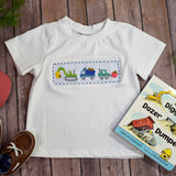 Construction Smocked T-Shirt