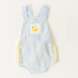 Smocked Ducky Sunsuit