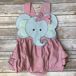 Elephant Ruffle Bubble