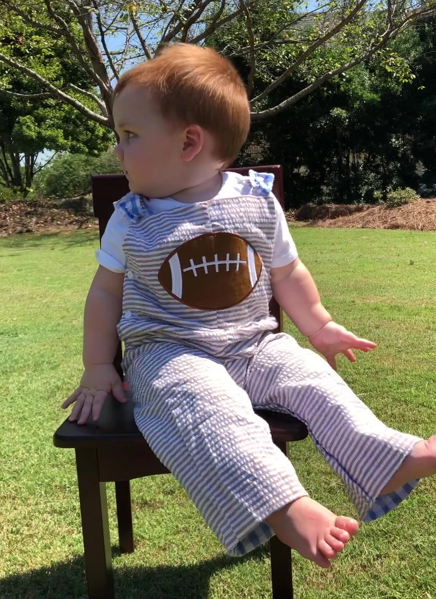 REVERSIBLE TURKEY THANKSGIVING FOOTBALL OVERALL