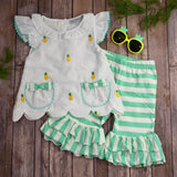 Pineapple Capri Set