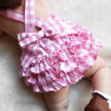 Pink Football Ruffle Bubble