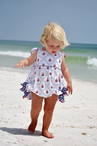 Sailboat Ruffle Bubble