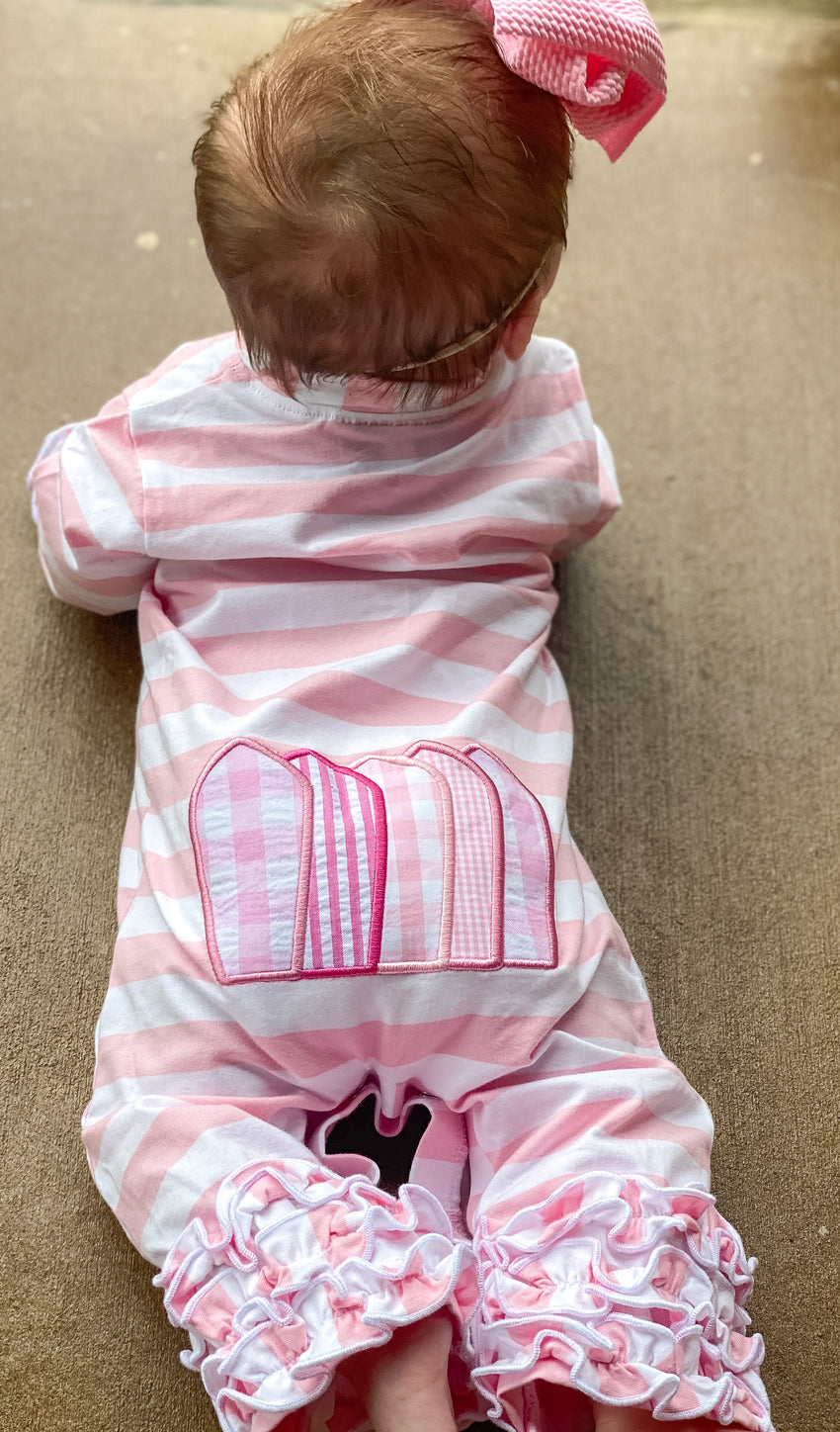 Girls Turkey Romper