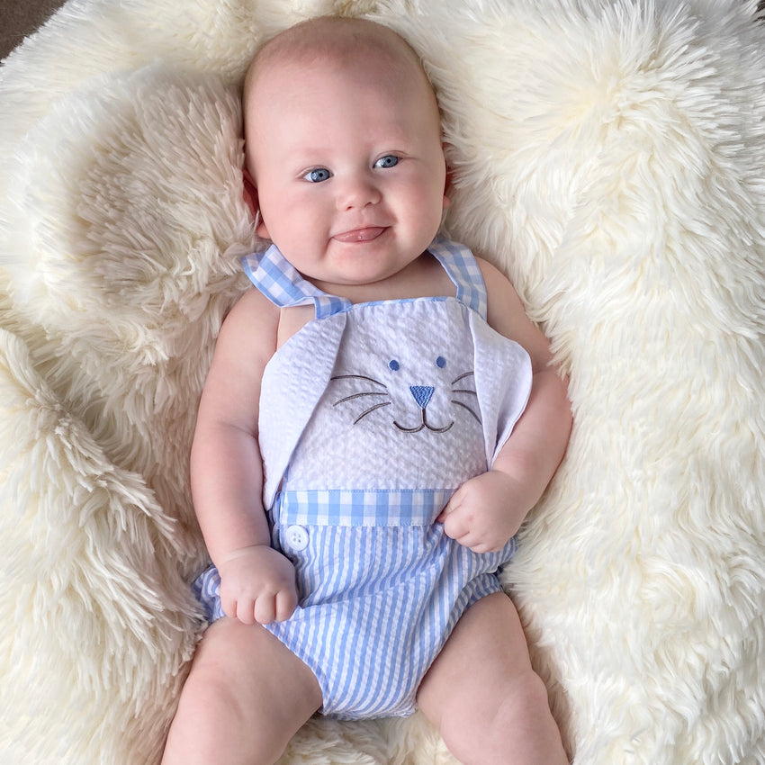 Blue Bunny Sunsuit