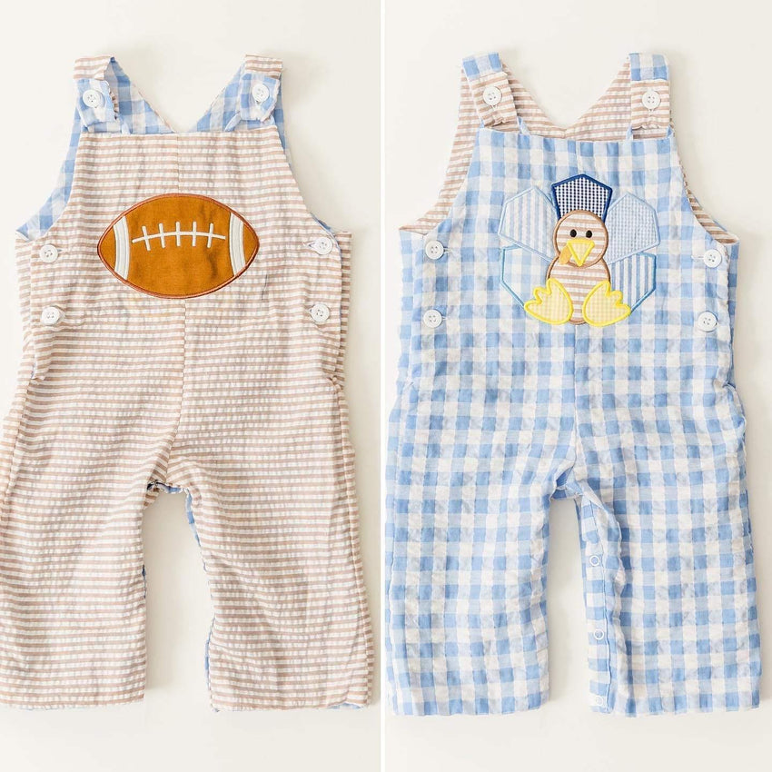 Reversible Football Turkey Overall