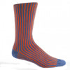 Fancy Vertical Stripe Sock