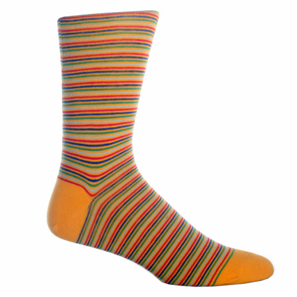 Thin Multi-Stripe Sock