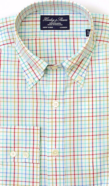 Button Down Collar Two Button Cuff Shirt