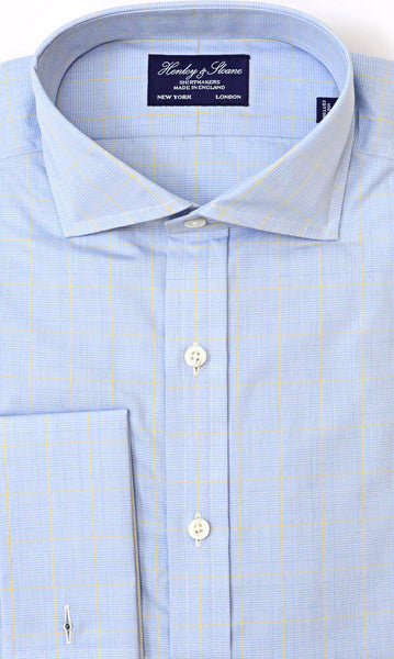 Cutaway Collar French Cuff Shirt