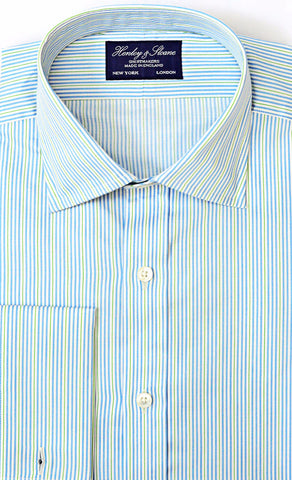 English Spread Collar French Cuff Shirt