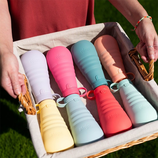 Great Color Selections for Collapsible Bottles from Stojo