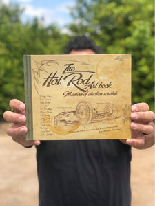 THE HOT ROD ART BOOK 'Masters of Chicken Scratch' coffee table book