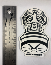 Load image into Gallery viewer, SMALL GASMASK die-cut sticker