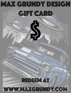 Max Grundy Design Gift Card