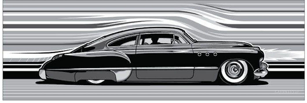 STREAMLINE 49 limited edition silkscreen print
