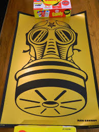 FULL FRONTAL FEAR limited edition silk screen print