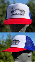 Load image into Gallery viewer, FAMILY MAN trucker cap