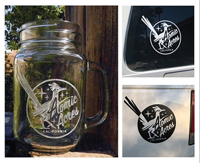 MOONSHINE MUG/VINYL DECAL SET
