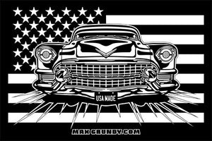 USA MADE sticker