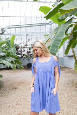 Forget Me Knot Babydoll Dress