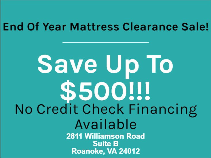End Of Year Mattress Clearance Sale