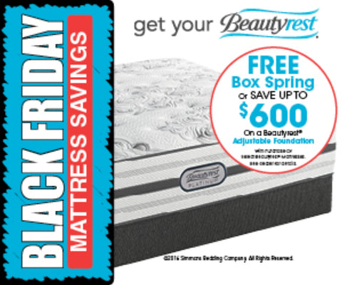 Simmons Beautyrest Free Boxspring Event