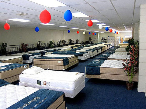 Large Mattress Showroom, Roanoke Mattress