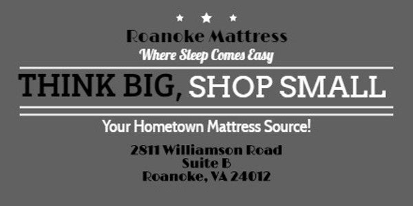 Roanoke Mattress, Locally Owned, Mattress Store In Roanoke, VA 24012