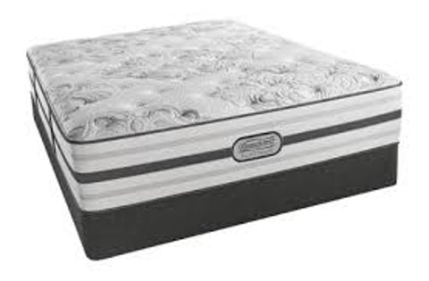 Simmons Beautyrest®‎Platinum Brittany Plush - Roanoke Mattress