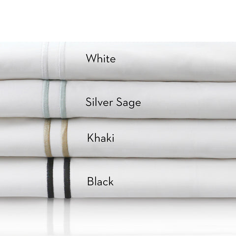 Malouf 200TC Cotton Percale Sheets - Roanoke Mattress - 1