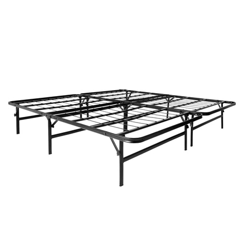 Malouf Highrise™ LT Platform Frame - Roanoke Mattress - 1
