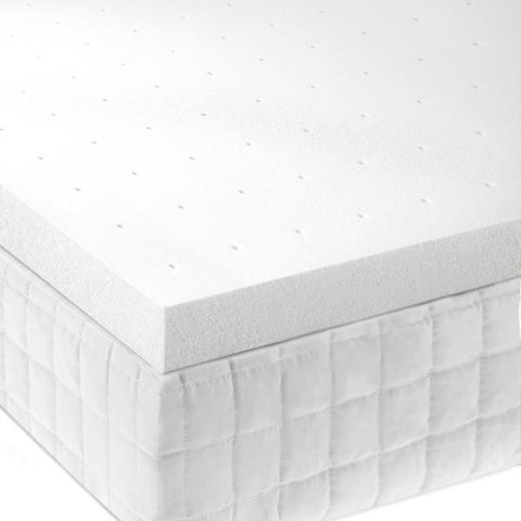 "Malouf 2"" Memory Foam Mattress Topper - Roanoke Mattress"