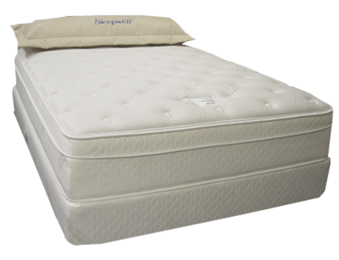 Twin Extra Long Size Sleepwell® Morning Blush Firm Eurotop