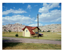 Stephen Shore: A Road Trip Journal with 'Badlands Monument'