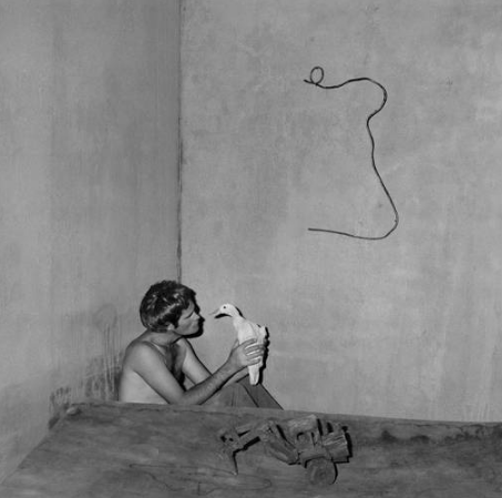 Roger Ballen: Boarding House with 'Contemplation'